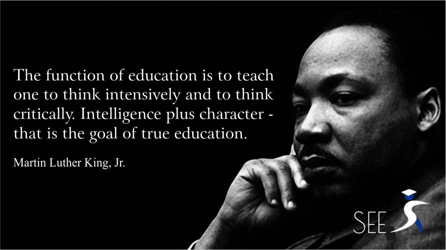 education quote mlk