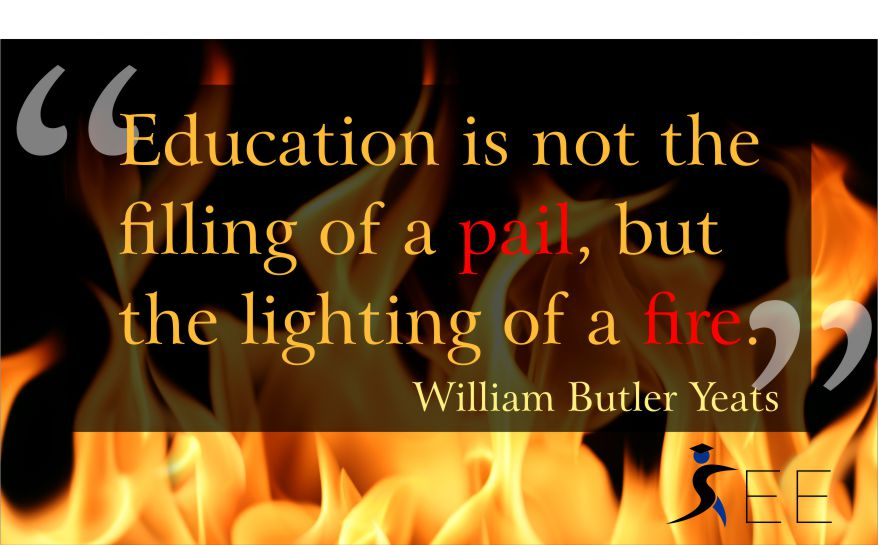 education quote yeats